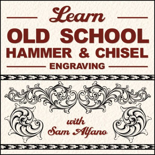 Learn Old School Hammer and Chisel Engraving by Sam Alfano (DVD)